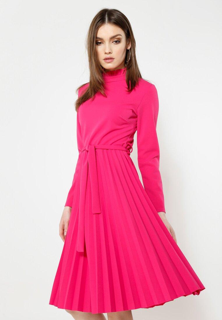 Fuksjowa Sukienka For You