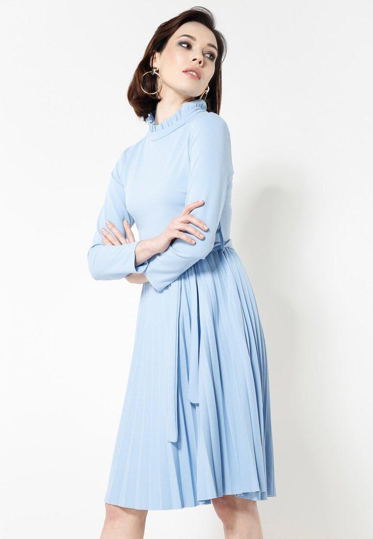 Niebieska Sukienka For You