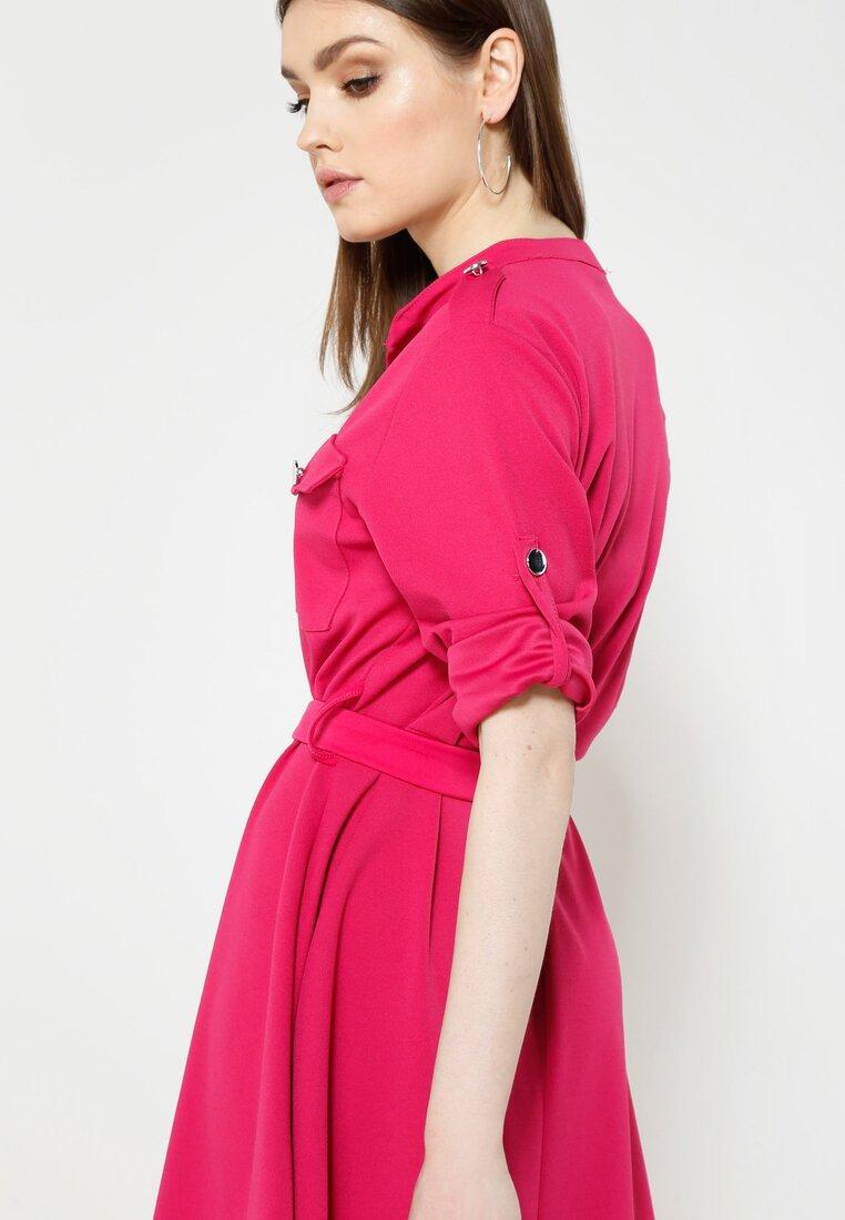 Fuksjowa Sukienka Remarkable