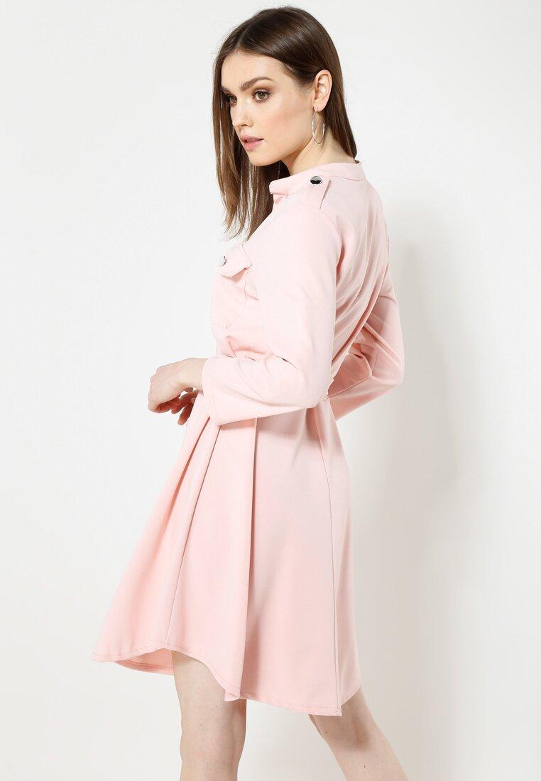 Różowa Sukienka Remarkable