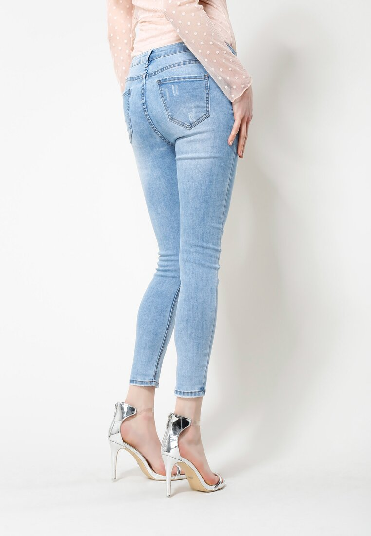Niebieskie Jeansy 7 Days
