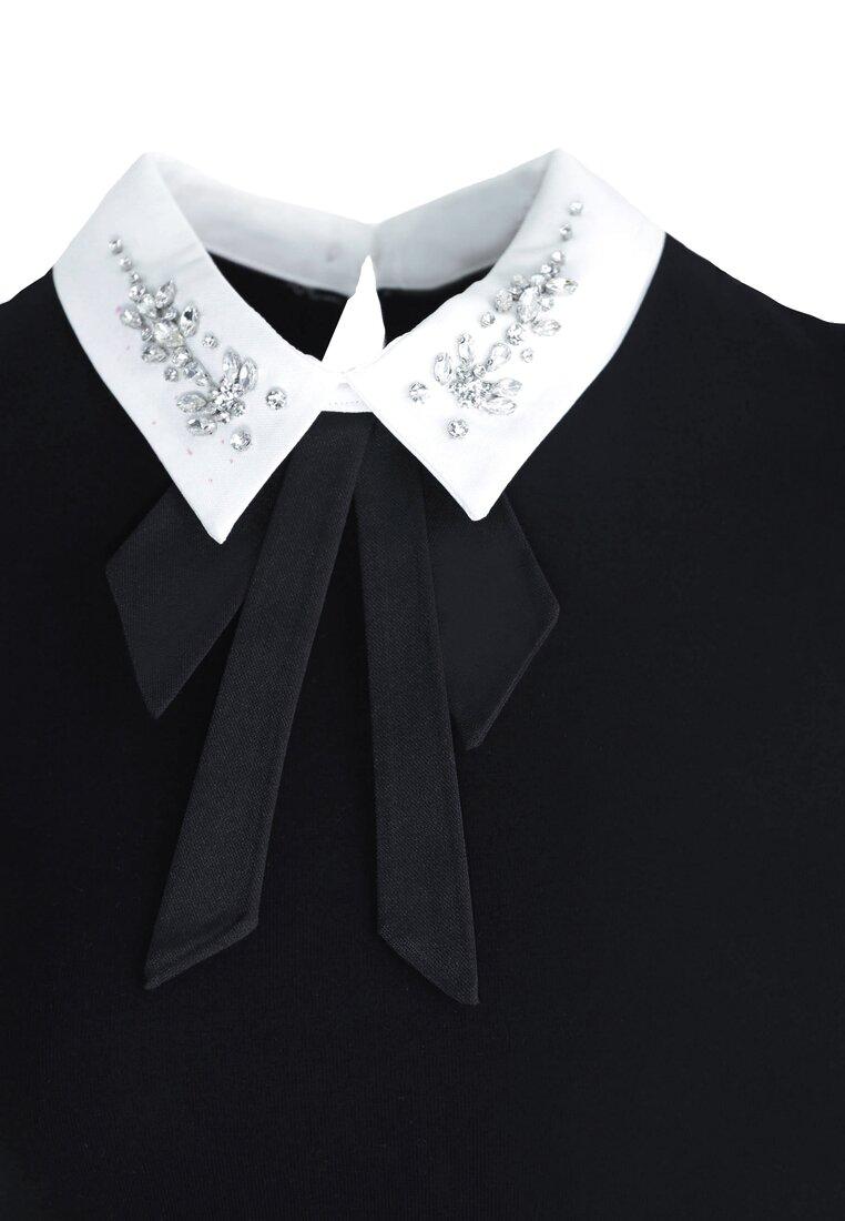 Czarna Sukienka Front Cuteness
