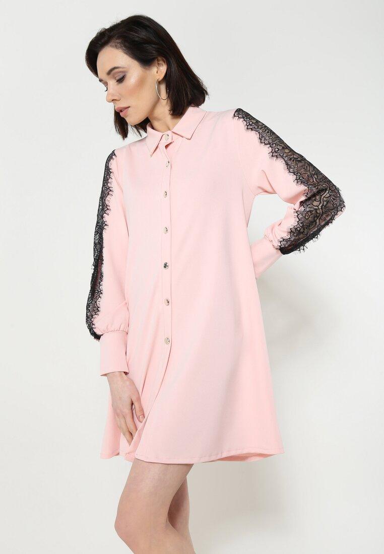 Różowa Sukienka Call Me Baby