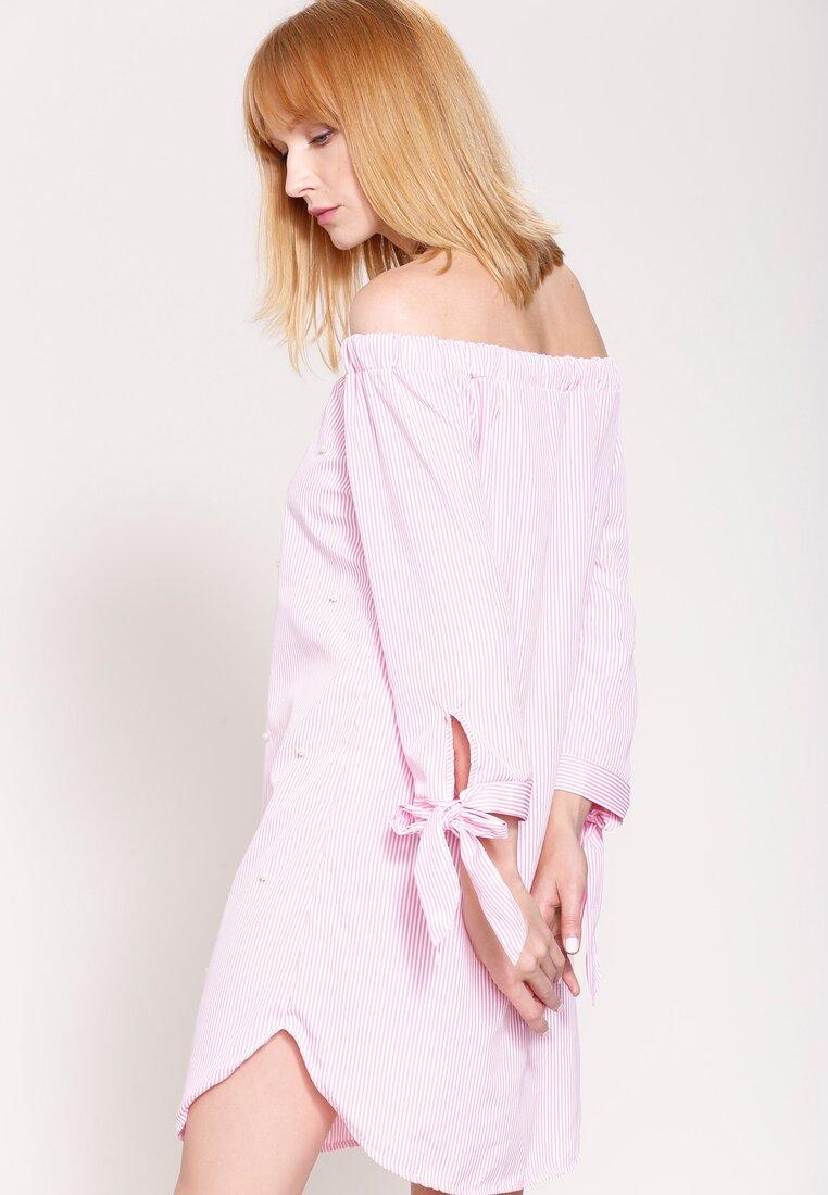 Różowa Sukienka Make Your Point