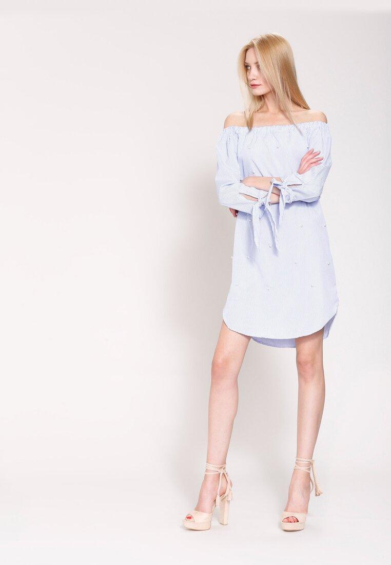 Niebieska Sukienka Make Your Point