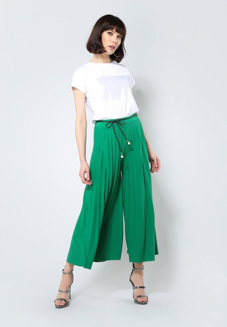 Zielone Spodnie Power Girl