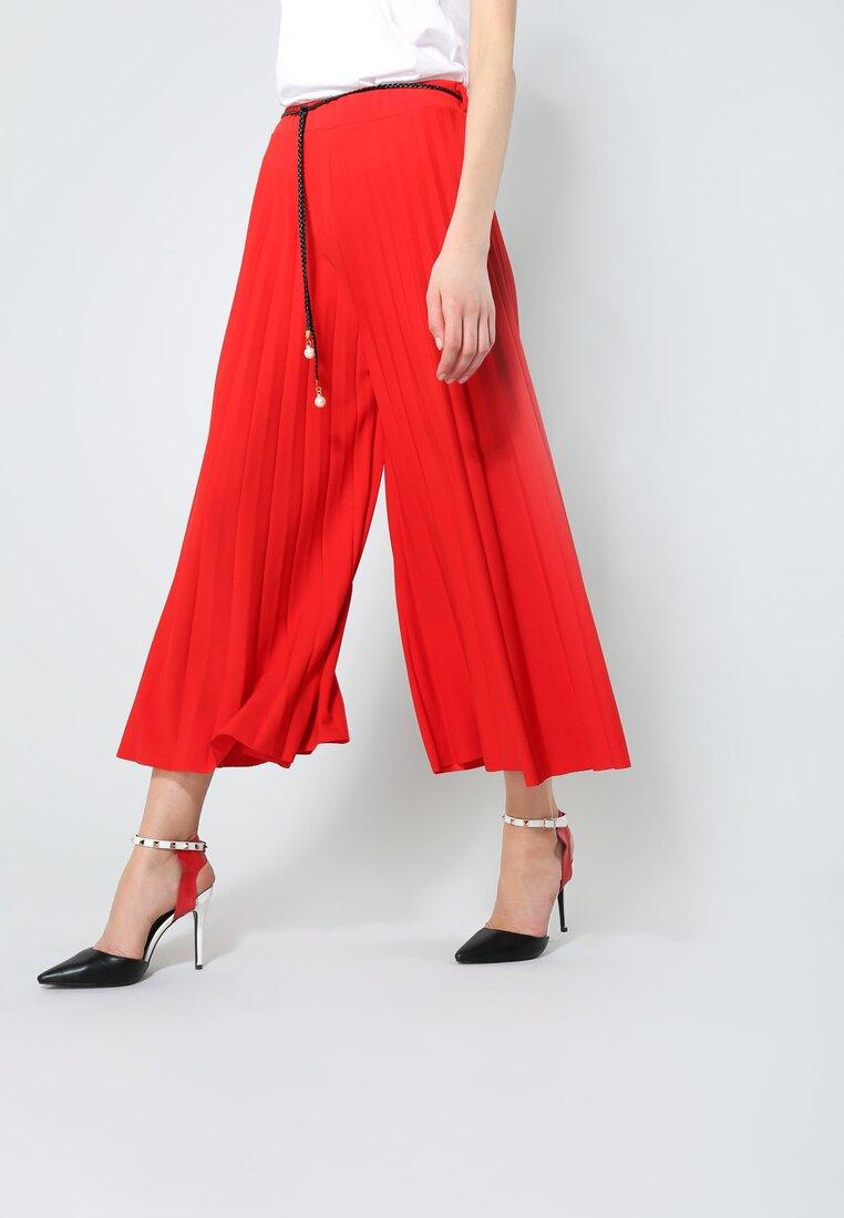 Czerwone Spodnie Power Girl