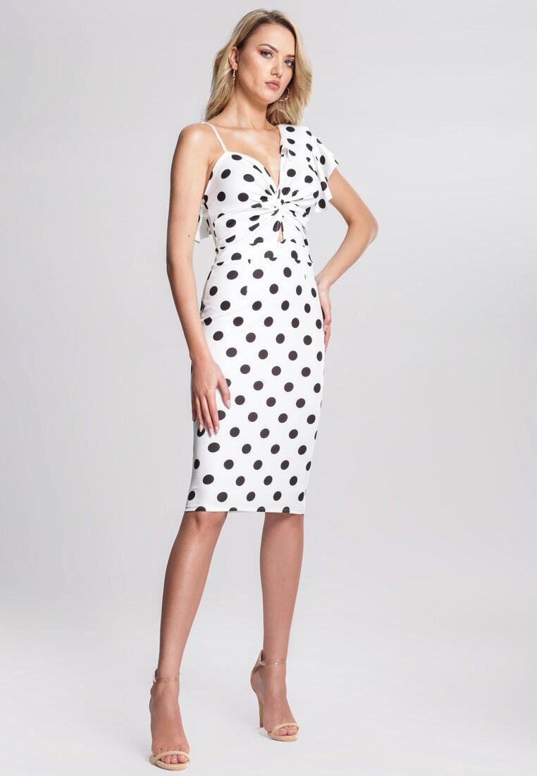 Biała Sukienka Dalmatic