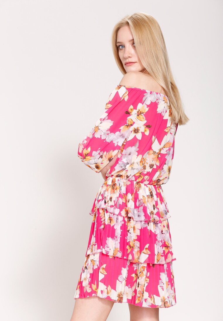 Fuksjowa Sukienka Glade