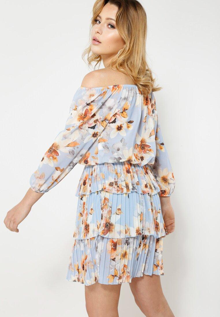 Niebieska Sukienka Glade