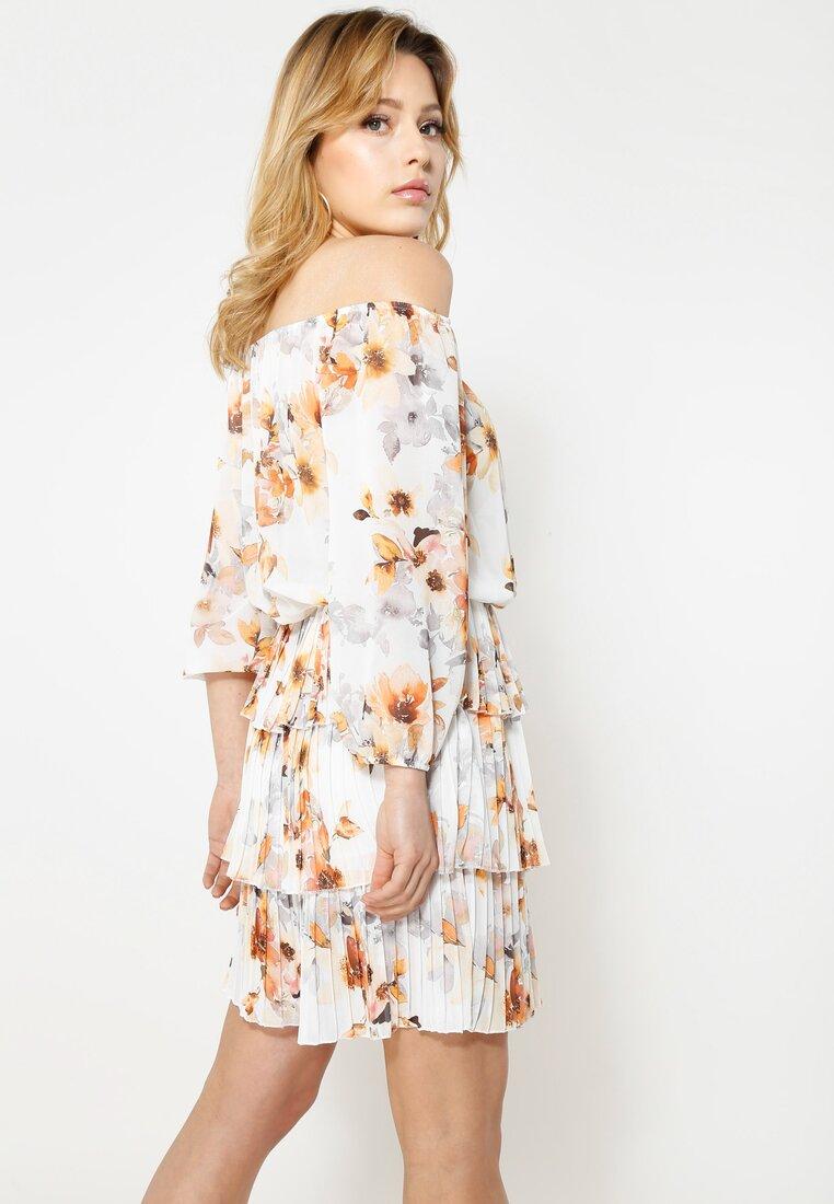 Biała Sukienka Glade