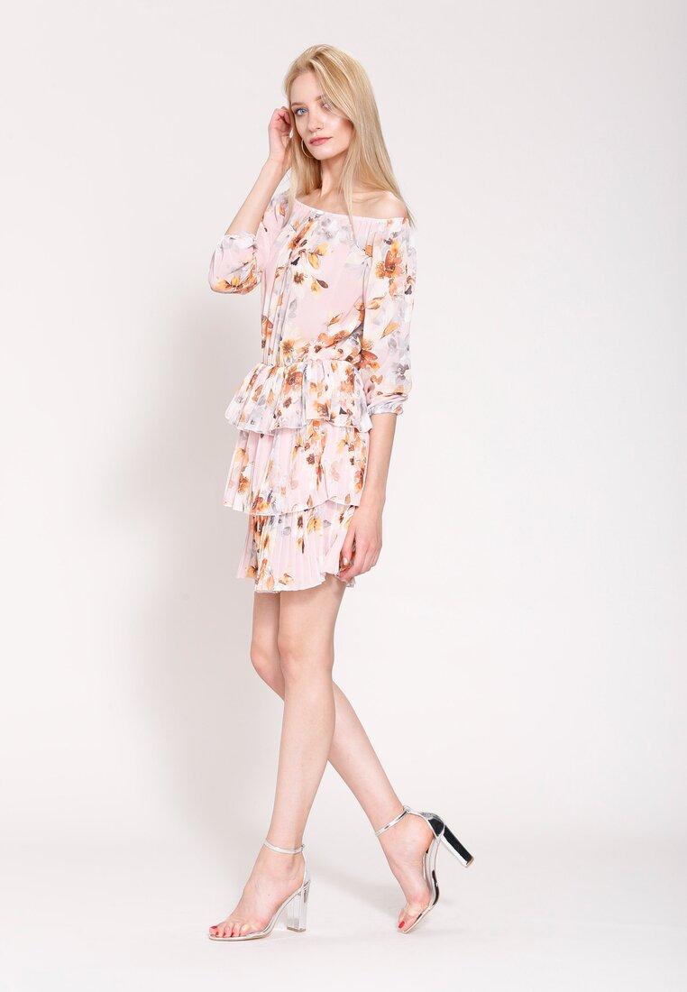 Różowa Sukienka Glade