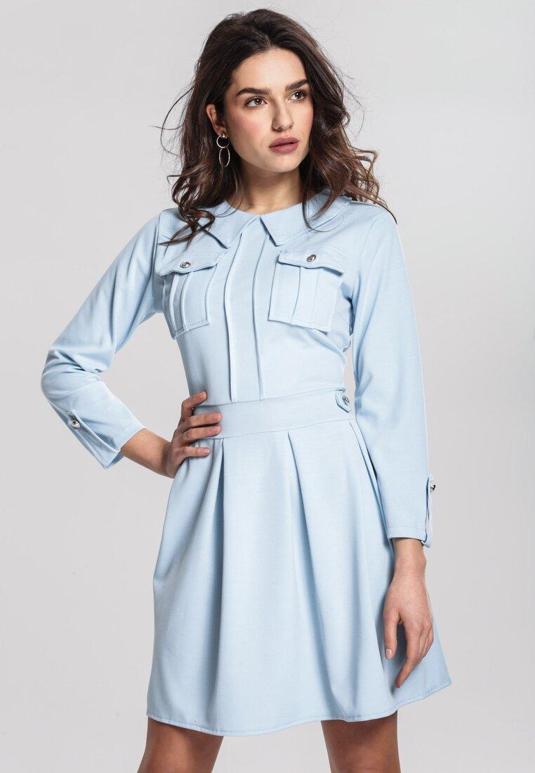 Niebieska Sukienka Believe It
