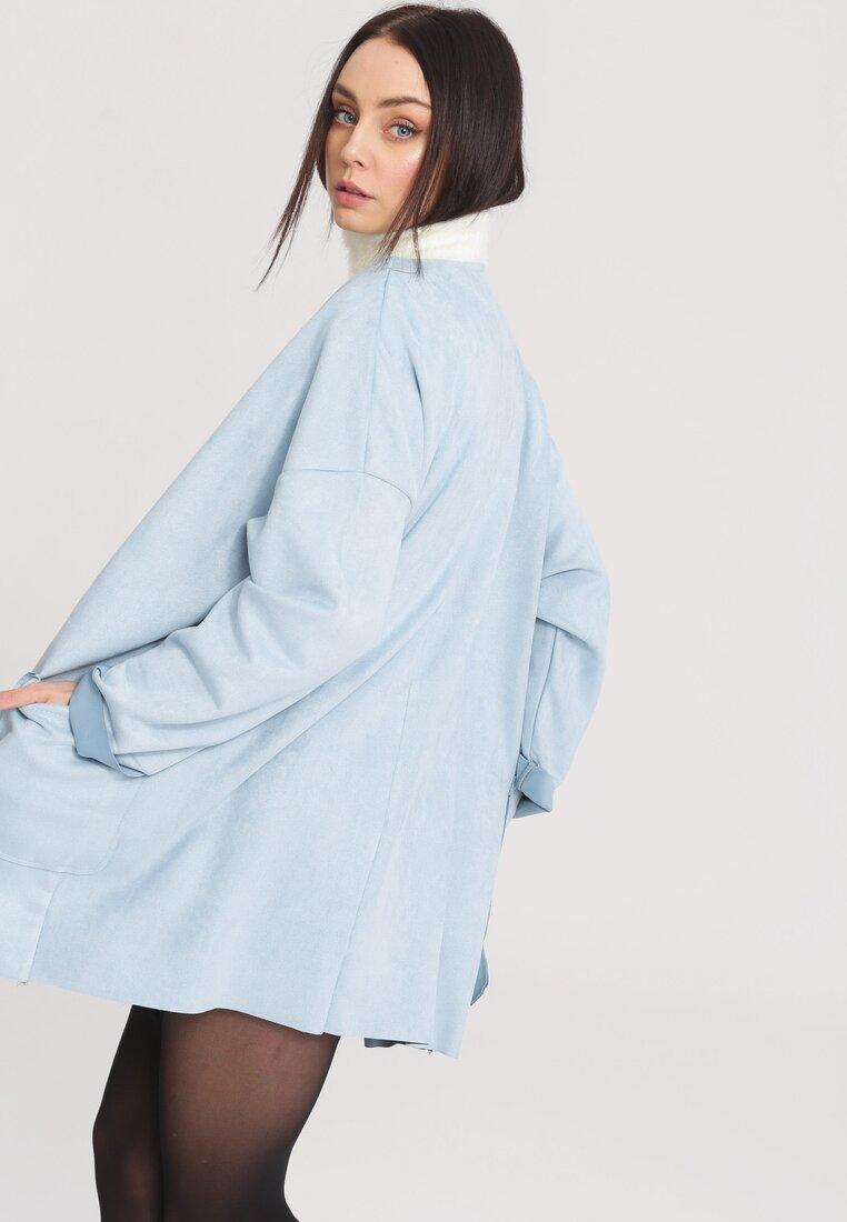 Niebieski Płaszcz Cover Me