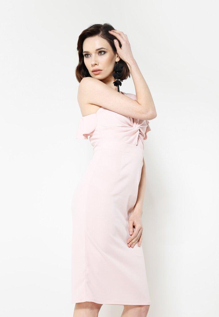 Różowa Sukienka Summer Story