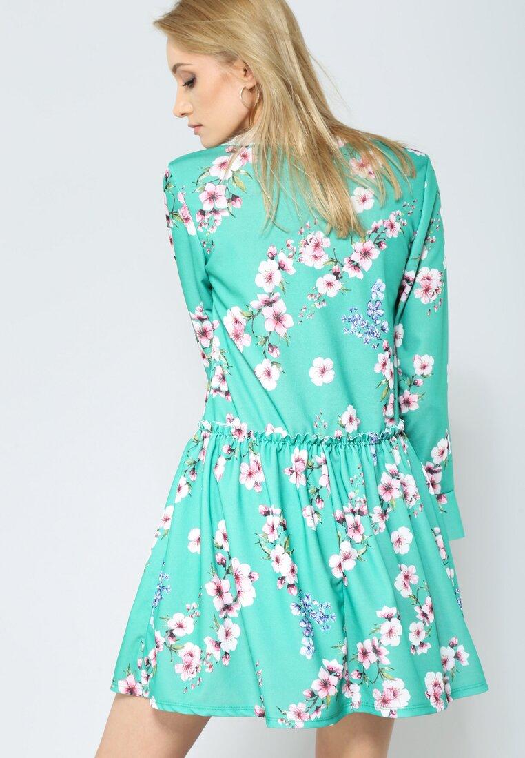 Zielona Sukienka Sweety Flower