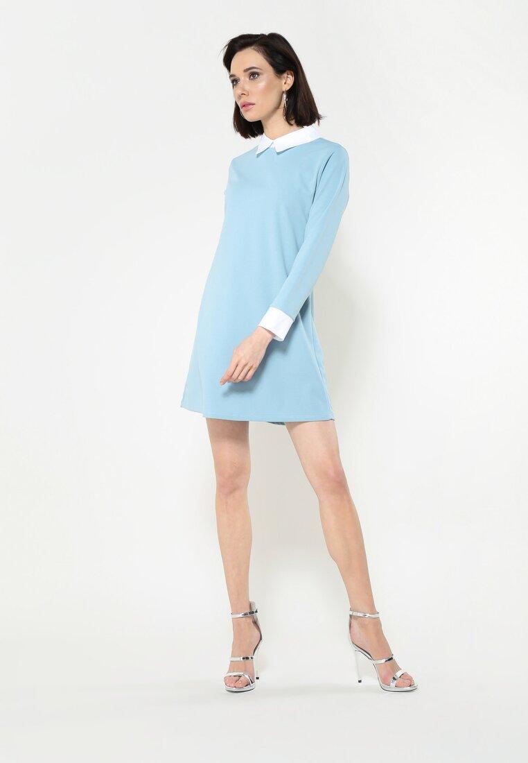 Niebieska Sukienka Perfect Day