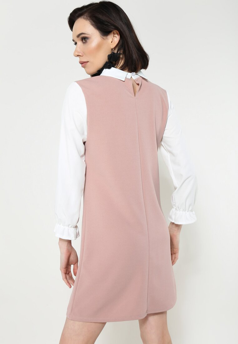 Różowa Sukienka Boubly