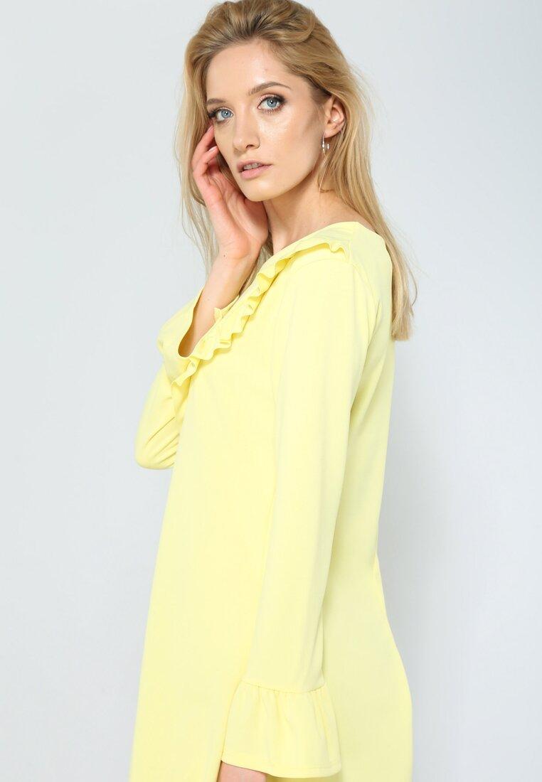 Żółta Sukienka Exciting