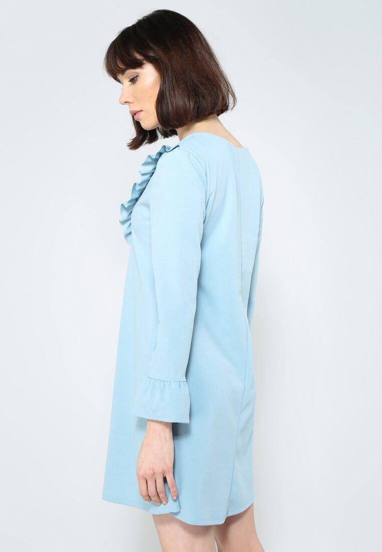 Niebieska Sukienka Exciting