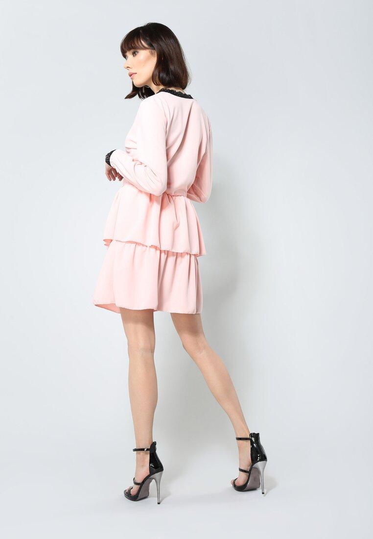 Łososiowa Sukienka Deep Love
