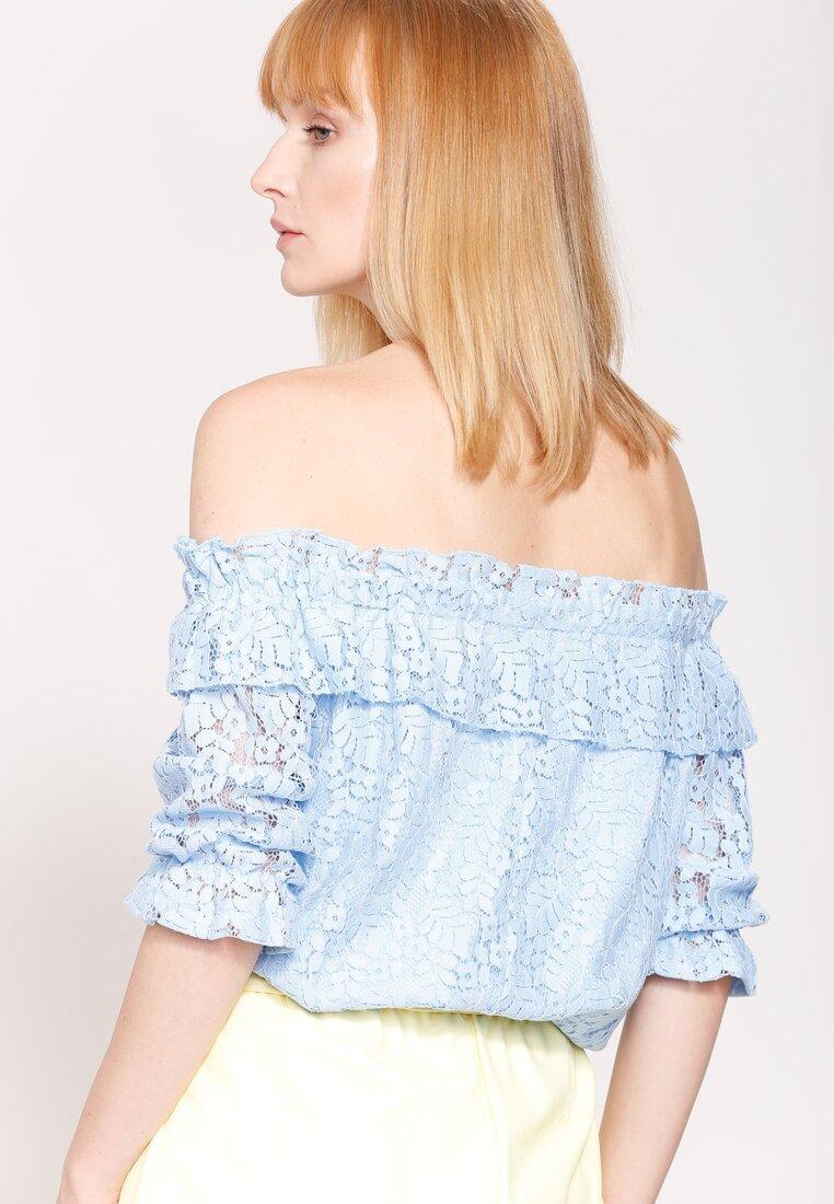 Niebieska Bluzka Spanish Piece