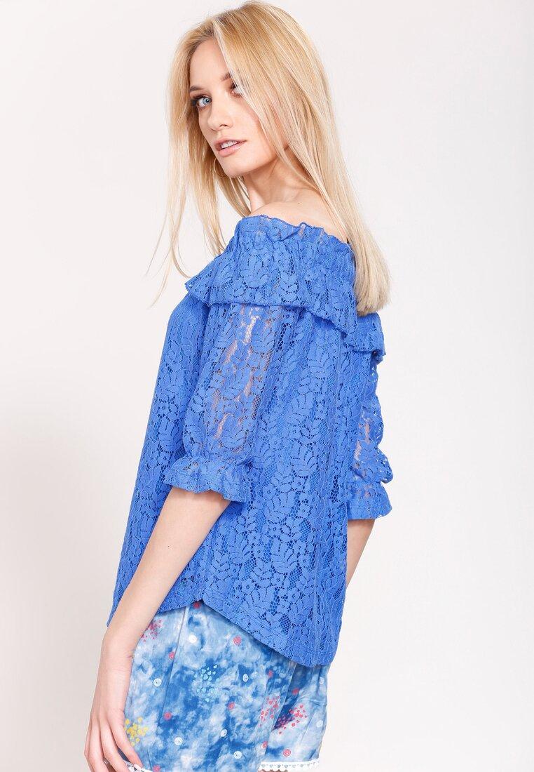 Ciemnoniebieska Bluzka Spanish Piece
