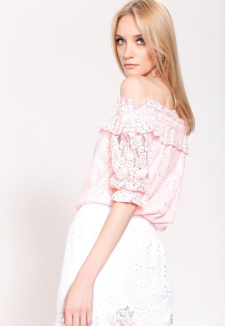 Różowa Bluzka Spanish Piece