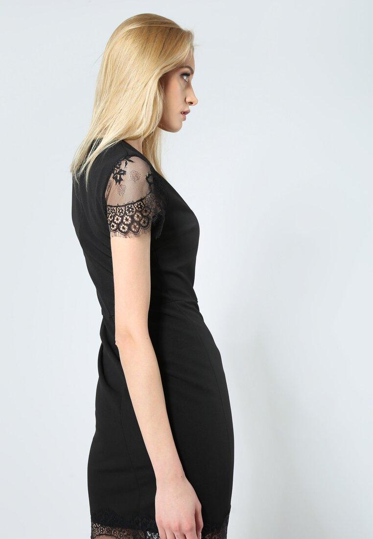 Czarna Sukienka Fantastic