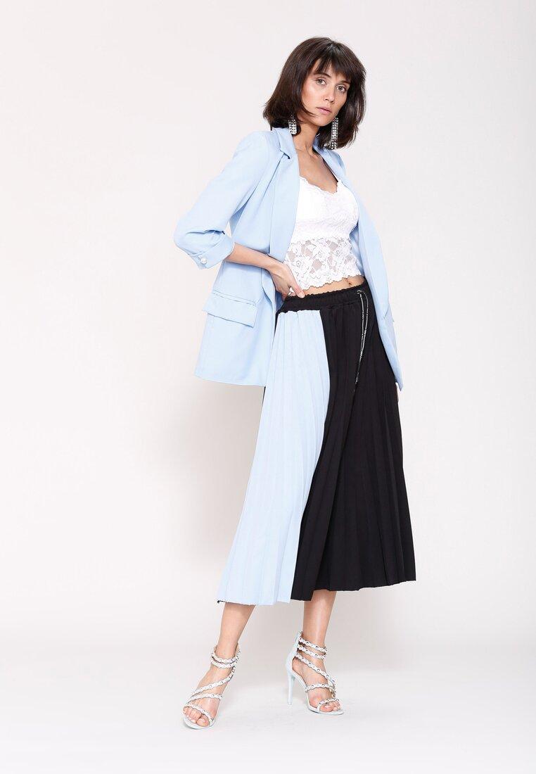 Czarno-Niebieska Spódnica The Chronic