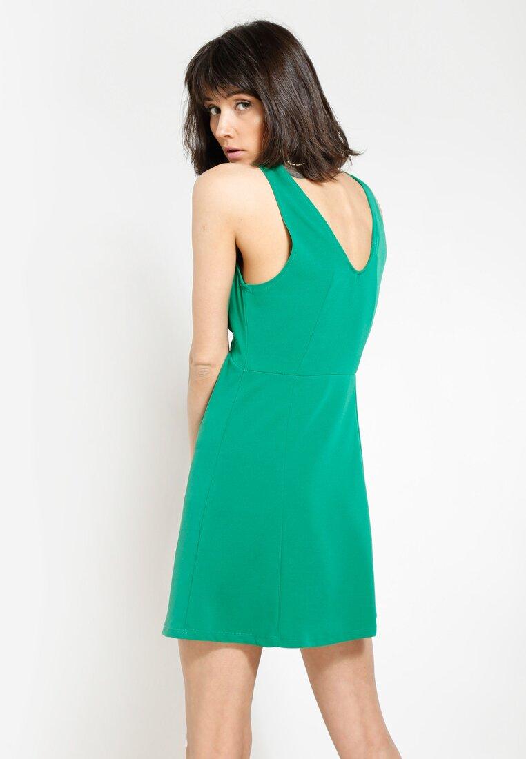 Zielona Sukienka Hello Girl!
