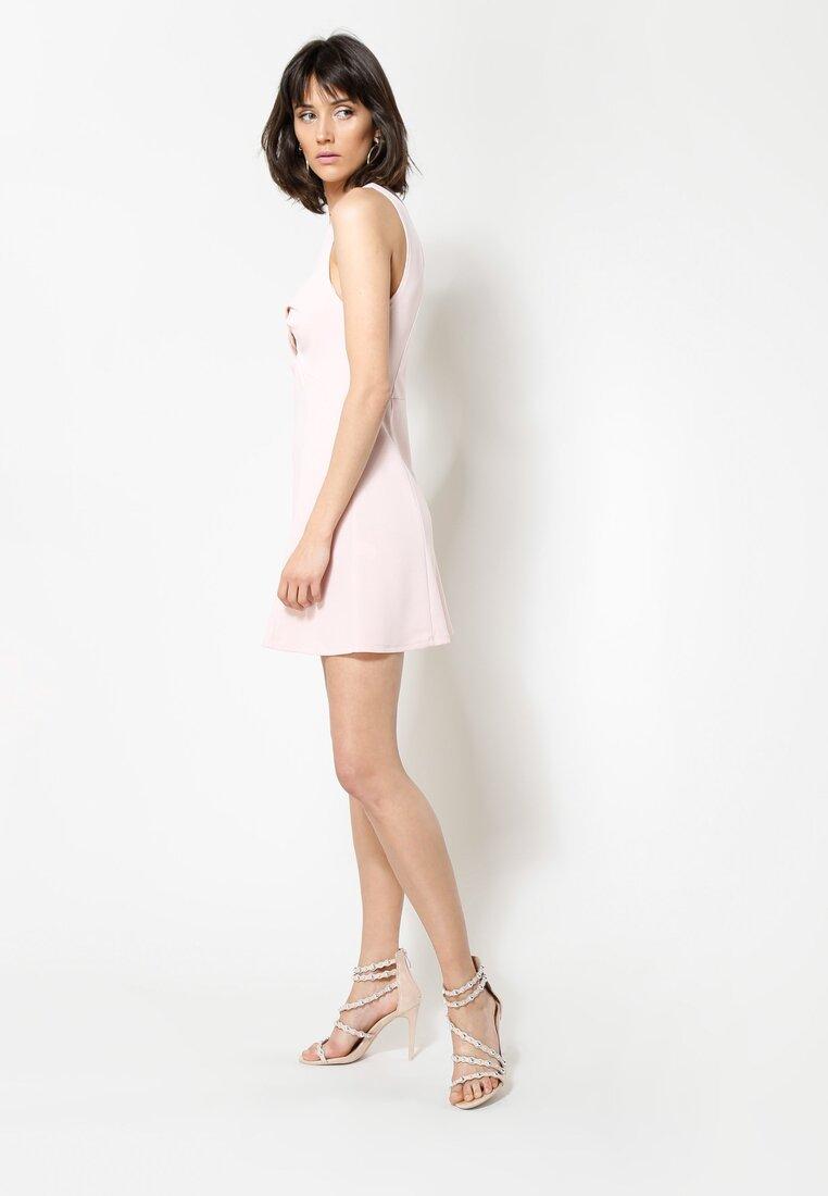 Różowa Sukienka Hello Girl!