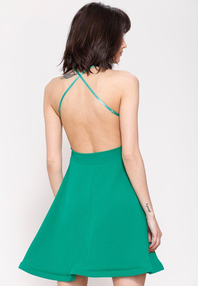 Zielona Sukienka Pretty Back