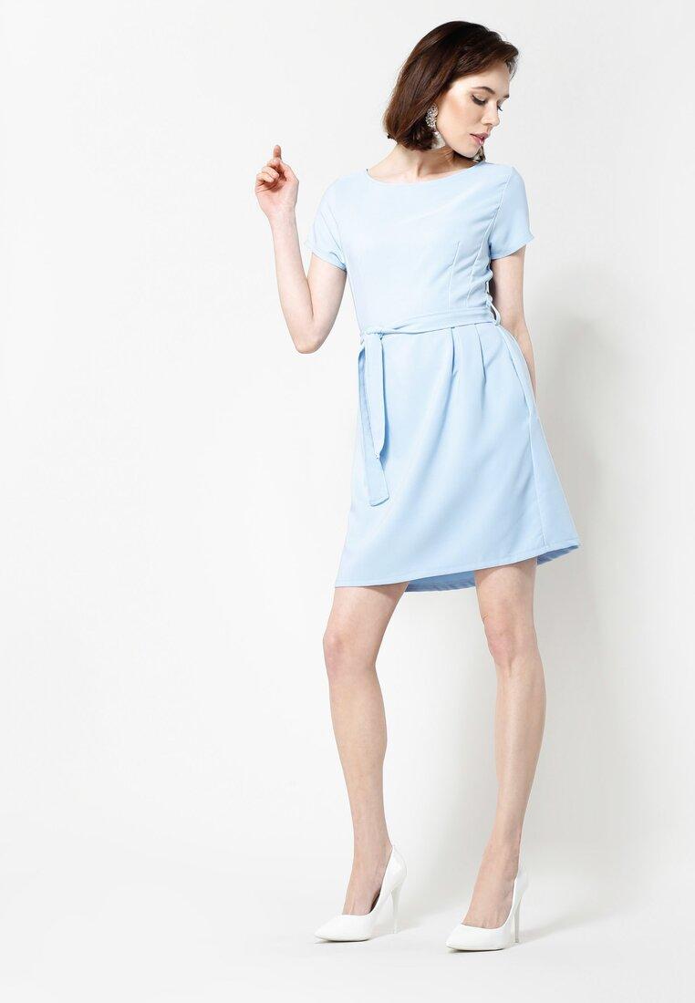 Niebieska Sukienka Hit Me Up