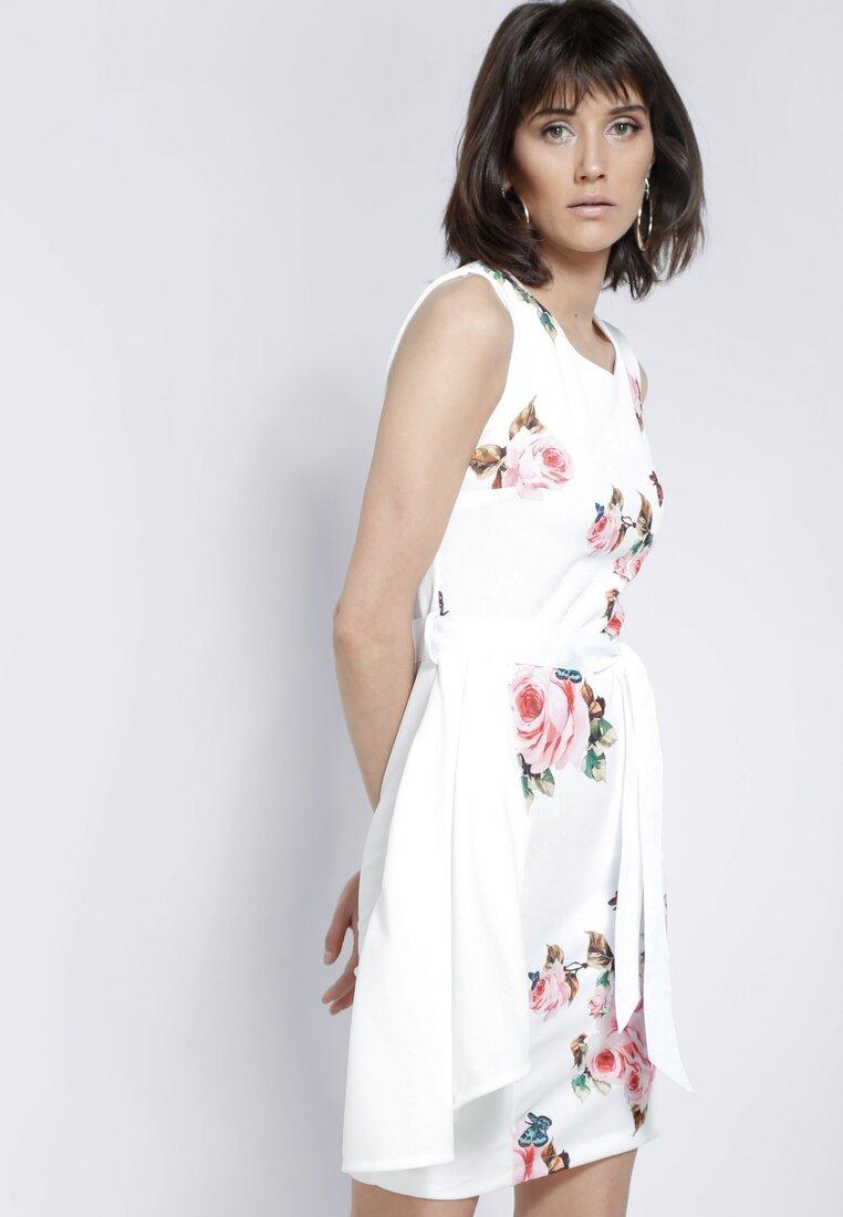Biało-Różowa Sukienka Hope