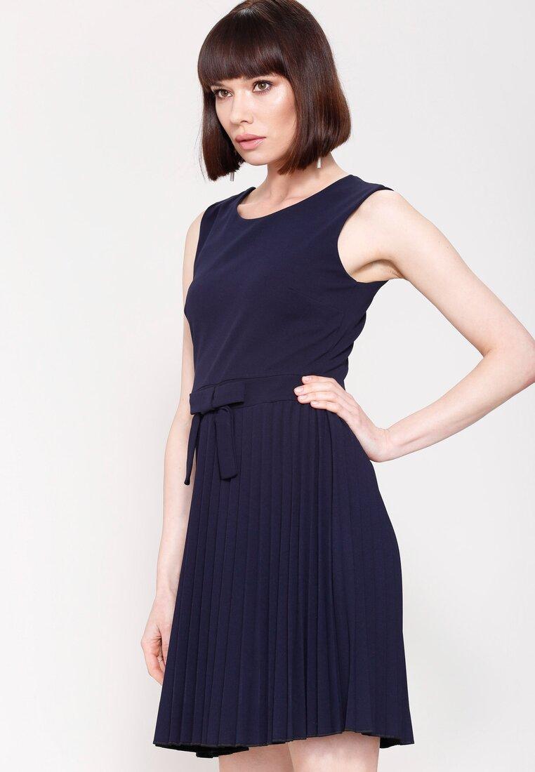 Granatowa Sukienka Let Me