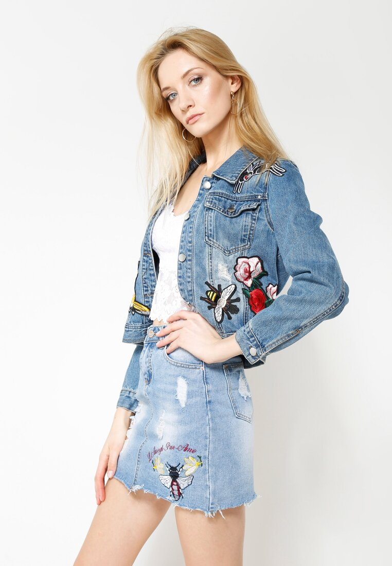 Niebieska Spódnica Like Me