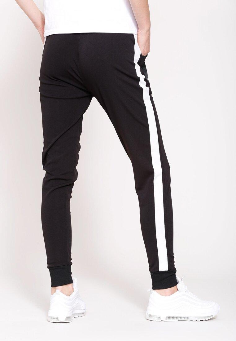 Czarne Spodnie Dresowe Hard Life