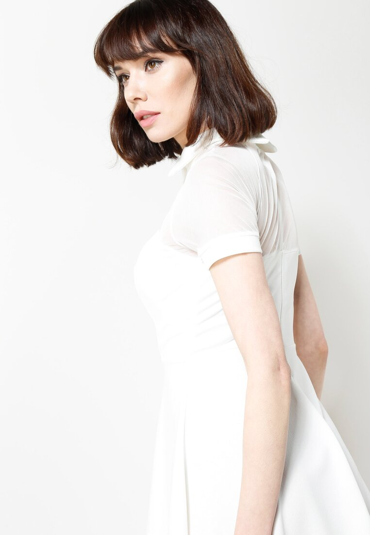 Biała Sukienka Sunday Afternoon