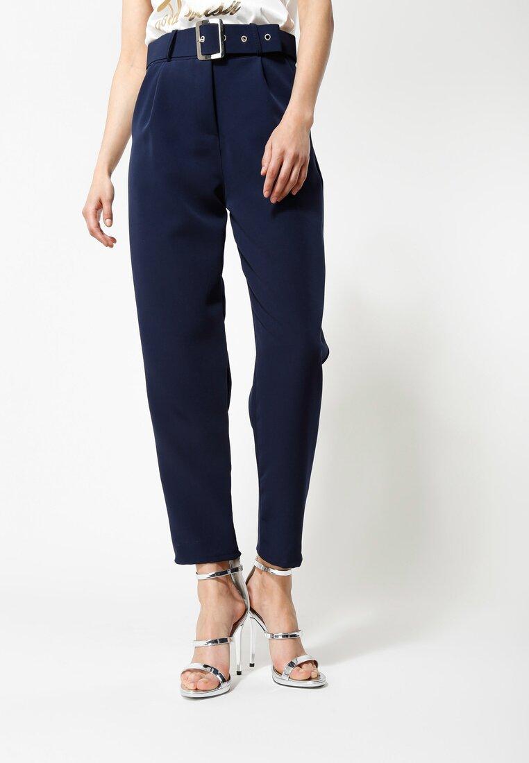 Granatowe Spodnie Take My Time