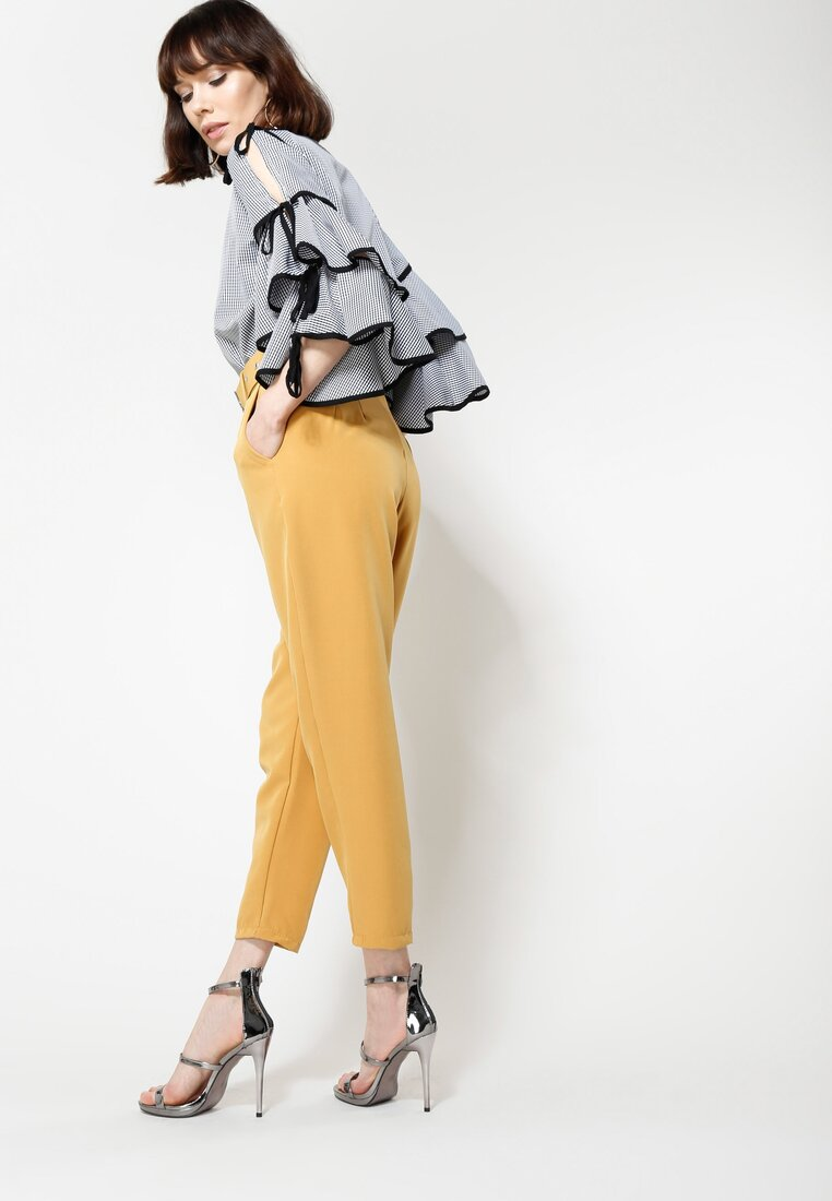 Camelowe Spodnie Take My Time