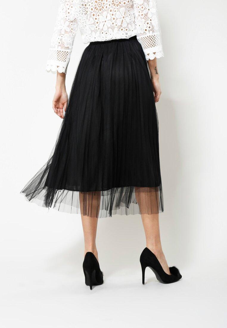 Czarna Spódnica Cool Vibes