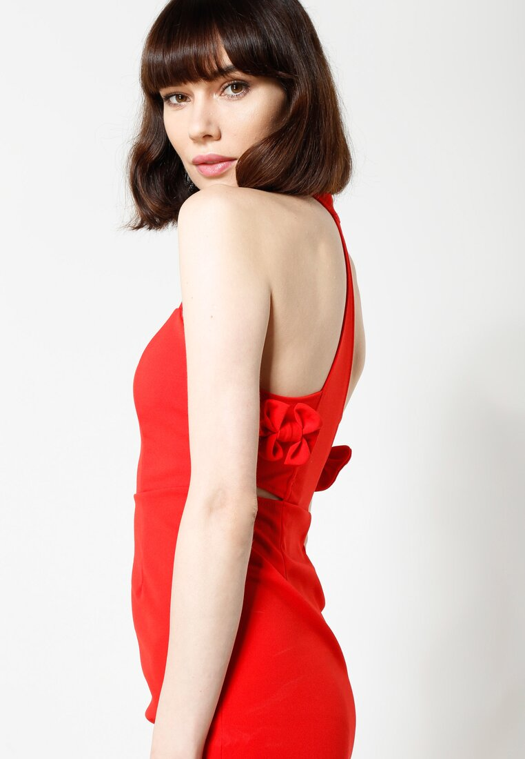 Czerwona Sukienka Perfectly Lonely