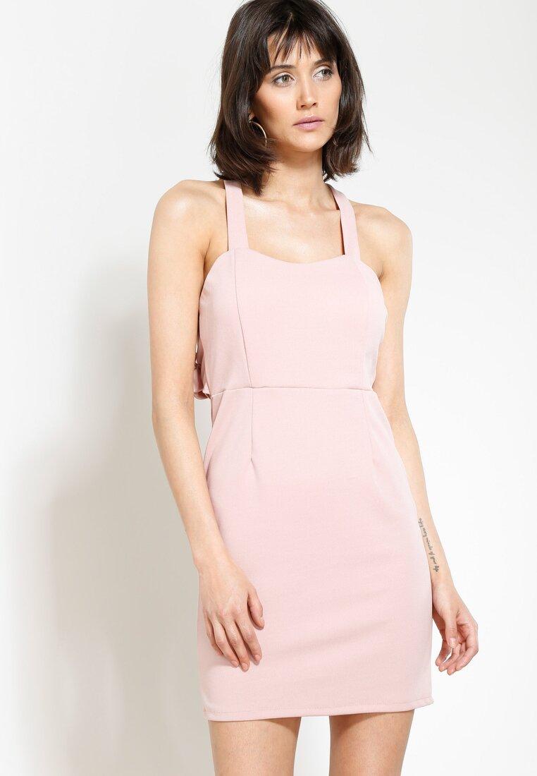 Różowa Sukienka Perfectly Lonely