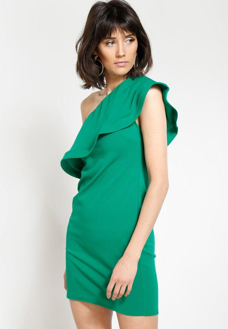 Zielona Sukienka Broken Heart