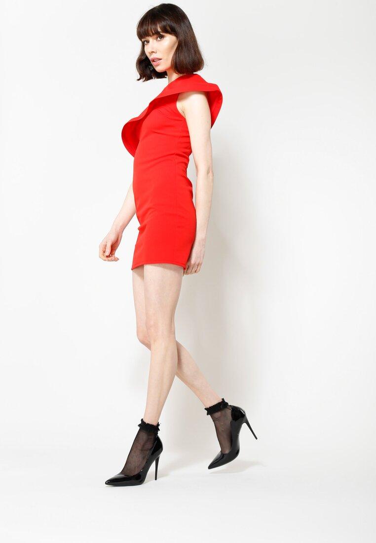 Czerwona Sukienka Broken Heart