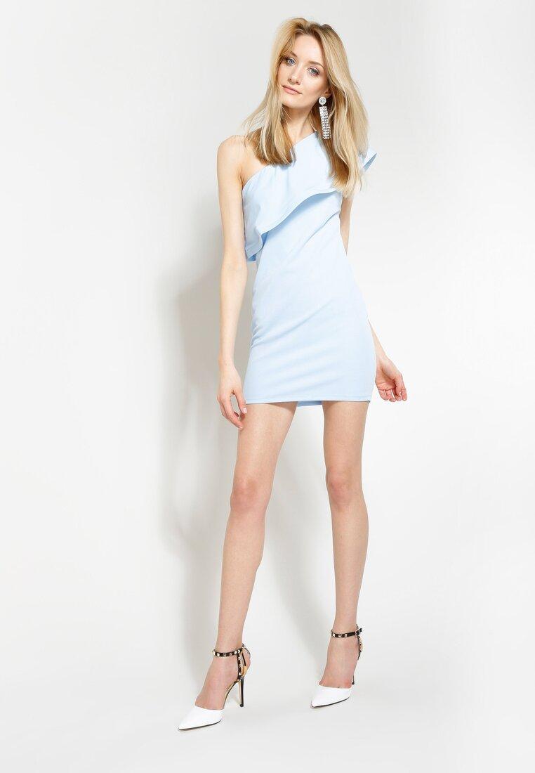 Niebieska Sukienka Broken Heart