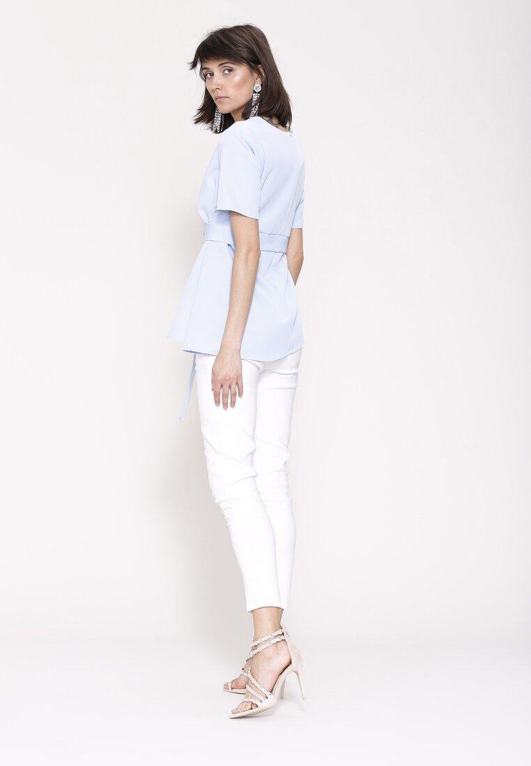 Niebieska Bluzka Clarity