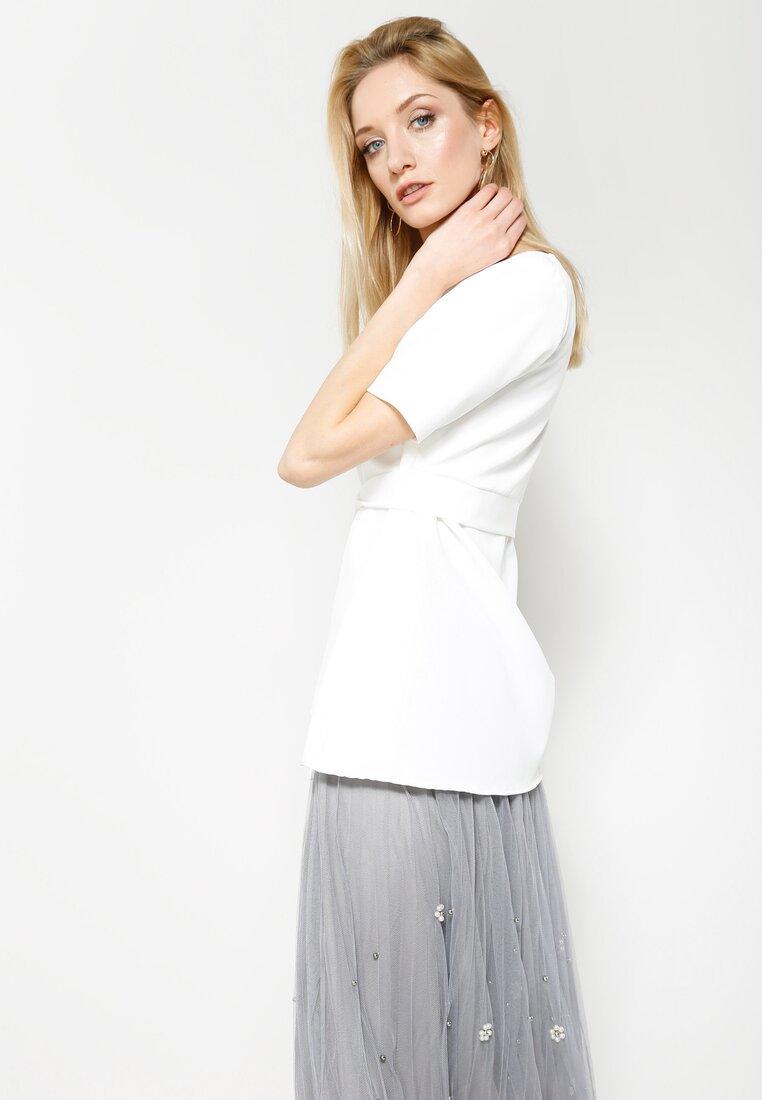 Biała Bluzka Clarity