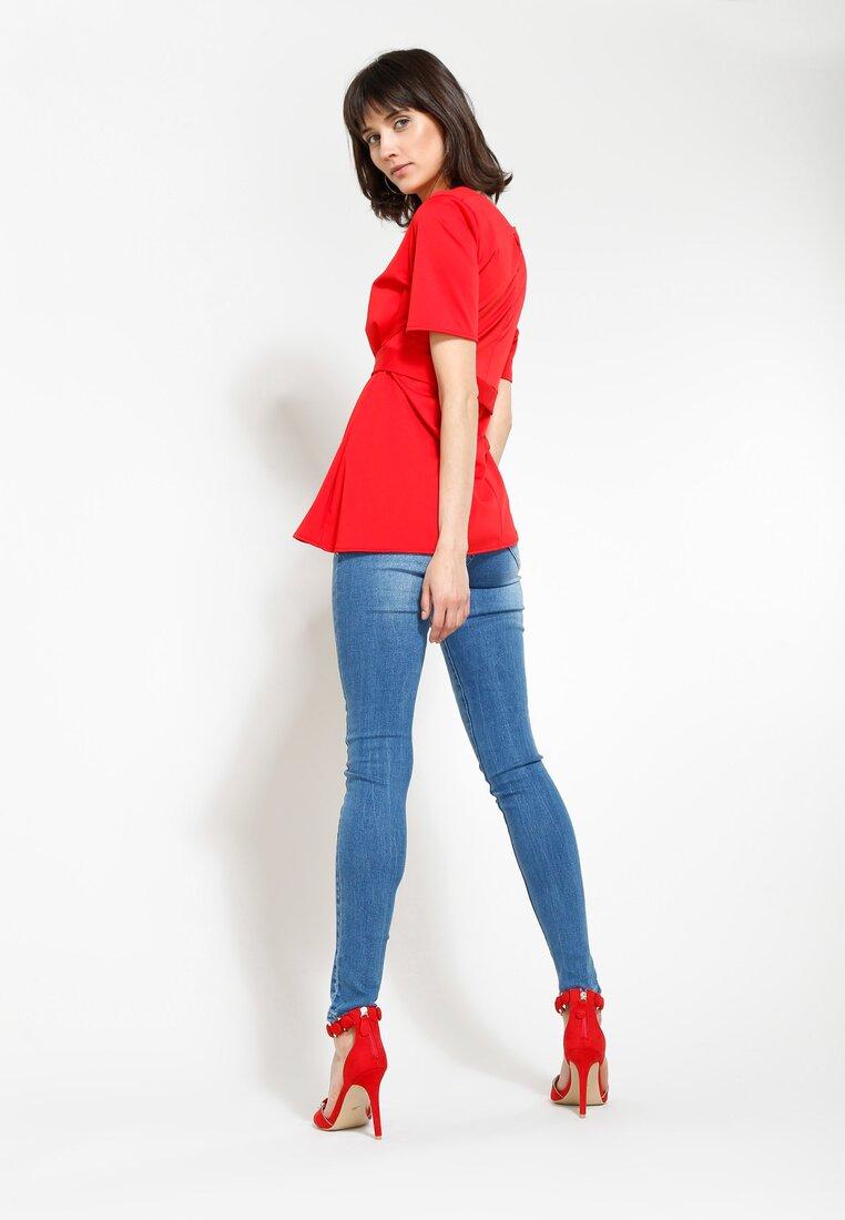 Czerwona Bluzka Clarity